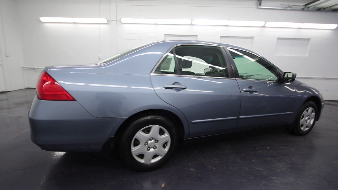 2007 Honda Accord Lx >> 2007 Honda Accord Lx 2 4 Cool Blue Metallic 7a178046