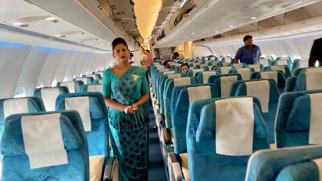 Chennai to colombo srilankan airlines Flight Travel Takeoff Landing -  YouTube