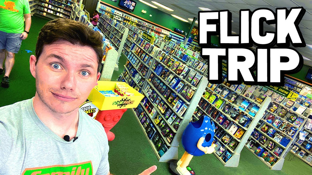 Why You Should Still Rent Movies! FLICK TRIP