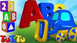 Impara l'inglese per i bambini   Alfabeto in Inglese   ABC Trattore   TuTiTu prescolastico