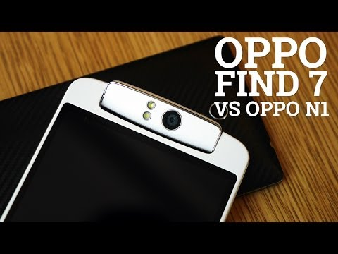 Oppo N1 vs Oppo Find 7 quick look