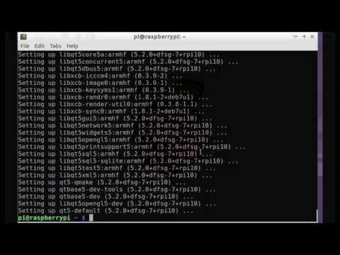 install qt5 on raspberry pi 2 raspbian youtube rh youtube com Raspberry Pi Pinout Raspberry Pi LED Lights