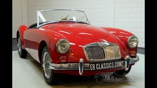 MGA 1600 Cabriolet 1959 -VIDEO- www.ERclassics.com