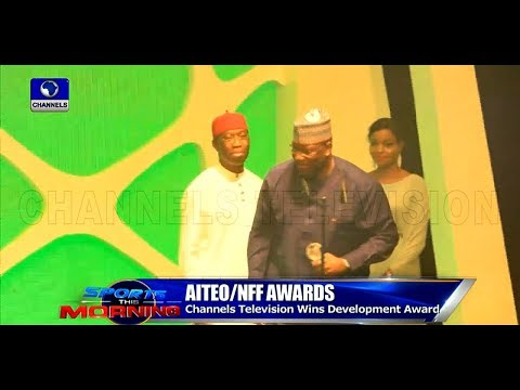 Channels Television Wins Maiden AITEO/NFF Award |Sports This Morning|