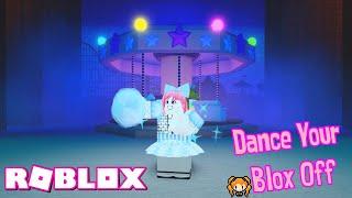 ROBLOX DANCE YOUR BLOX OFF Theme Park FAIR 🎡 & Hospital NURSE! (I Made a Fan SAD!) 😟