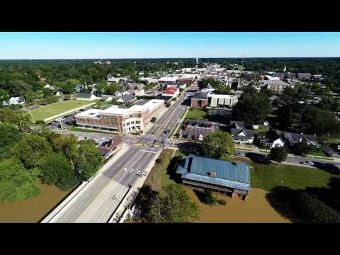 Hurricane Matthew - Downtown Smithfield NC