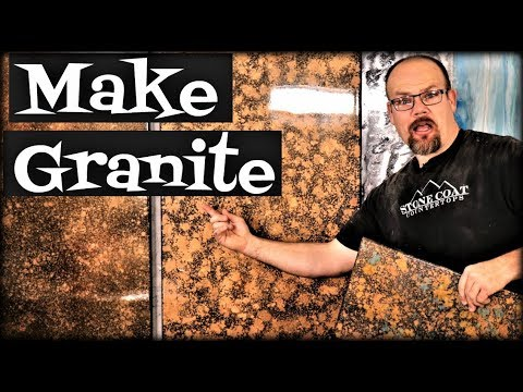 Make Metallic Granite
