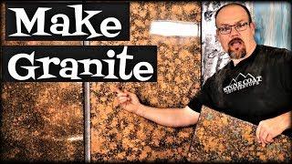 Make Metallic Granite