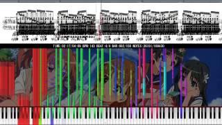 Download 「Black MIDI」Toaru Kagaku no Railgun OP 1 - Only my Railgun MP3 song and Music Video