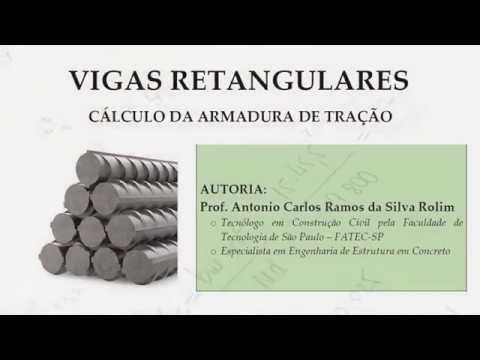CÁLCULO ESTRUTURAL | Vigas Retangulares: Roteiro do cálculo de armaduras de tração