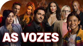 CONHEÇA OS DUBLADORES de LUCIFER (Netflix - Fox) Série