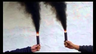 Bengala de humo Fumaza (de mano) NEGRA
