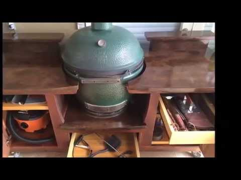Big Green Egg Tables   Posh Patios (800) 319 9344