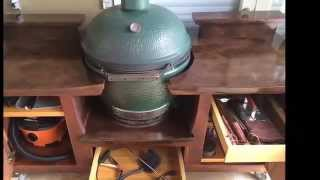 Big Green Egg Tables - Posh Patios (800) 319-9344