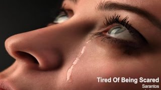 Sarantos Tired Of Being Scared Official Music Video- New Top 40 Pop Song Tribute To David Bowie