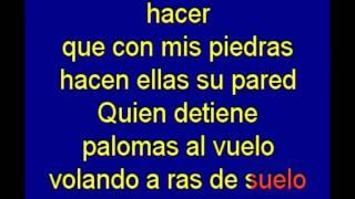 Mujer Contra Mujer - Mecano - karaoke Tony Ginzo