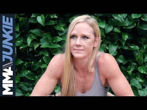 UFC 225: Holly Holm full media lunch in Los Angeles