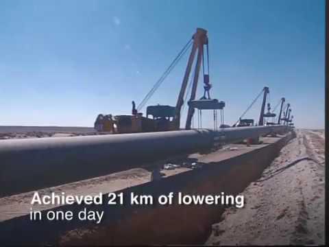The Petroleum Development Oman (PDO) Gas Pipeline