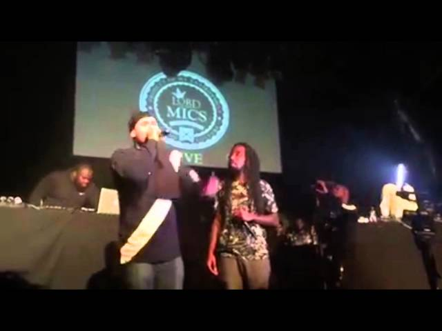Jaykae Gets A Glass Lobbed At His Head!!!! LOTM