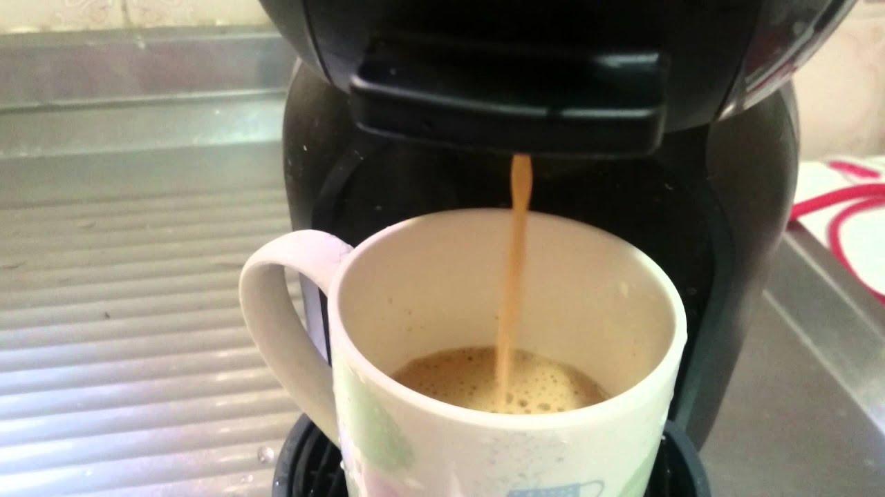 Café Au Lait na Dolce Gusto (Café com leite) - YouTube