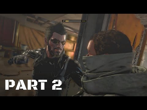 Deus Ex Mankind Divided Intro & Mission 1 Part 2 Walkthrough Gameplay With Commentary
