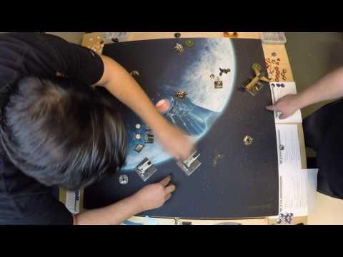 X-WING MATCH: 2 U-Wings/2 T70 vs Bossk/Fenn/Y-Wing - X-Wing Miniatures - SPG