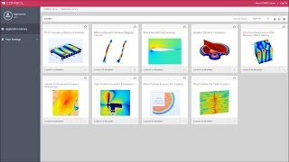 Xi Engineering Shows How to Access Apps Using COMSOL Server™