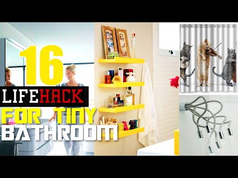 16 Smart Small Bathroom ideas