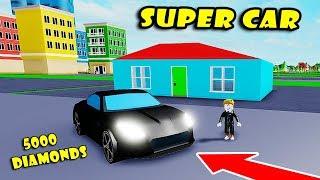 * ¡Nueva actualización de mascotas y casa! Tengo nuevo SUPER CAR en Ice Cream Van Simulator!! [Roblox]