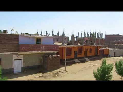 Train ride through Aswan from Luxor on the Pharaoh Express, Egypt