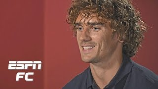 Barcelona's Antoine Griezmann talks Lionel Messi, LeBron James and a new goal celebration | La Liga