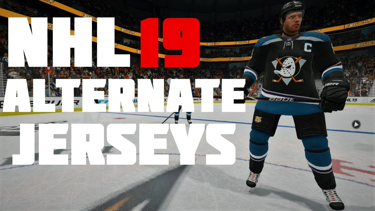 NHL 19 New Alternate Jerseys - YouTube 338e213f89f