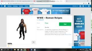 Roblox WWE - Roman Reigns