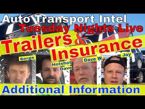 Auto Transport Trailer & Car Hauling Insurance: Business Tips & Advice