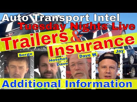 Auto Transport Trailer & Car Hauling Insurance: Business Tips & Advice