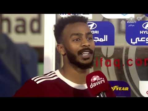 لاعب نادي الفيصلي حمدان الشمراني : بعزيمة الرجال تمكنا من قلب النتيجة
