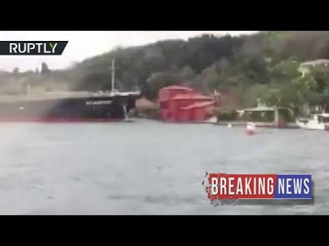 [BREAKING NEWS]'Cruise Control': Tanker slams into 18th century waterfront mansion
