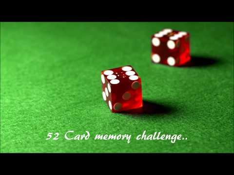 52 memory card challenge