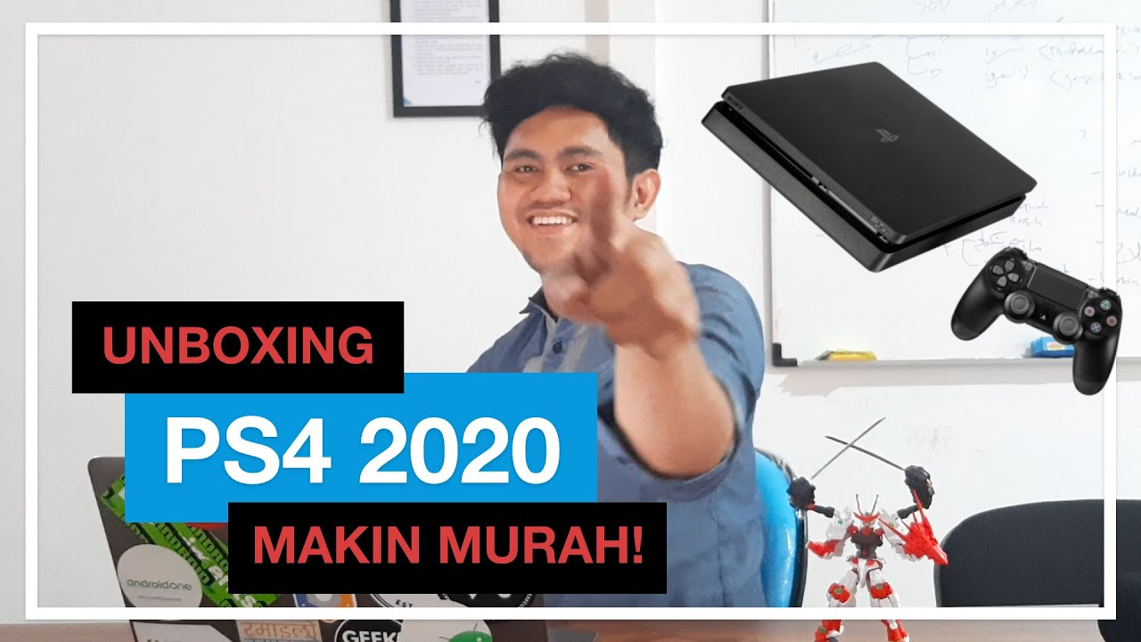 Harga playstation 4 (ps4) 2021. Unboxing PS4 dan Info Harga PS4 2020 Indonesia - YouTube