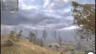 """Видео из игры """"С.Т.А.Л.К.Е.Р. Чистое Небо""""."""