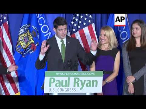 House Speaker Ryan Wins 9th Term in Congress