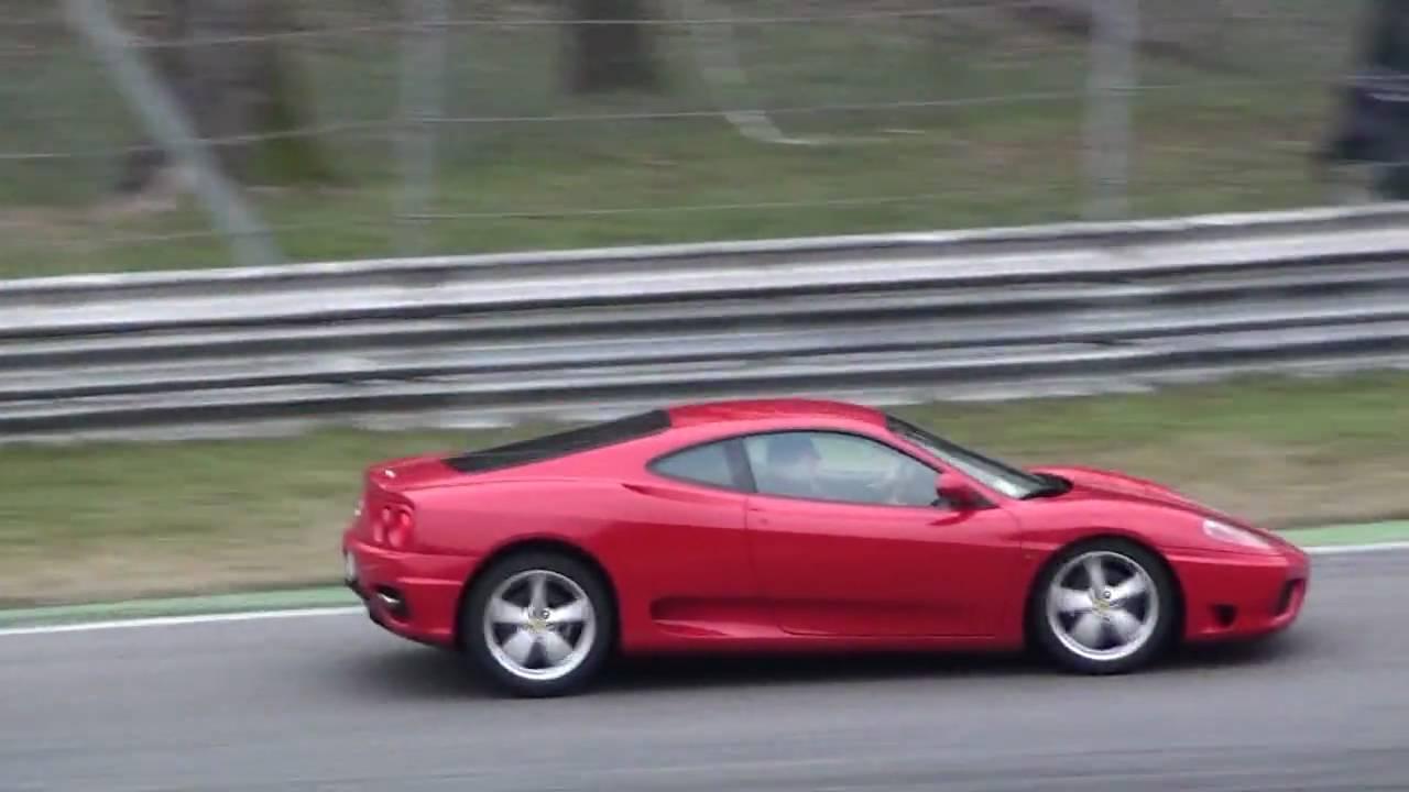 Ferrari F430 Vs Ferrari 360 Modena Youtube