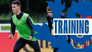 Young Lions Score Wonder Goals in Euro Preparations | Inside Training | England U21