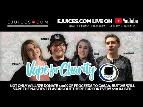 VAPE FOR CHARITY - Join us in solidarity with CASAA