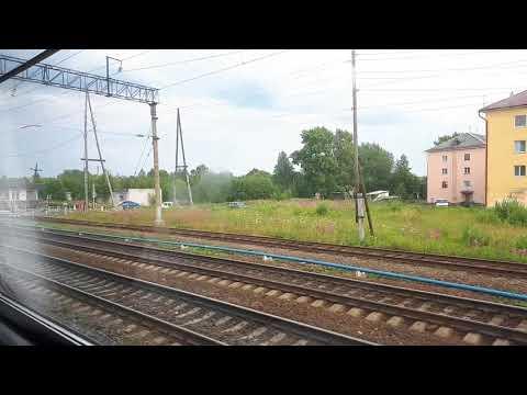 Прибытие на станцию Беломорск