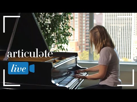Articulate with Jim Cotter: Claire Marie Le Guay performs Liszt