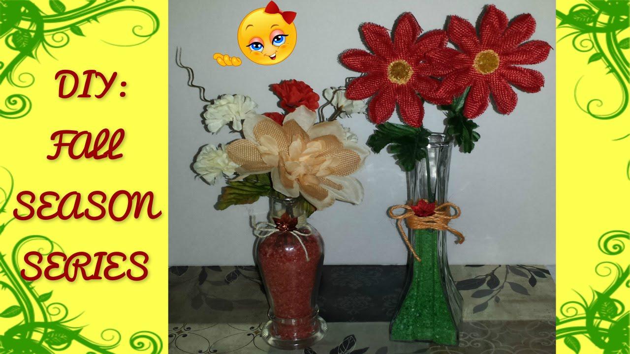 Diy 1 easy fall floral arrangements vase filler youtube diy 1 easy fall floral arrangements vase filler reviewsmspy