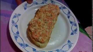 закуска из сельди(вкус красной икры)