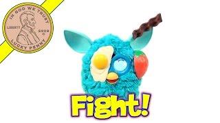 Furby Food Fight (FFF) Old School vs. New School (1998 Furby vs 2012 Furby )