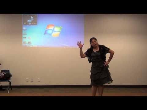 Practice video for FBCC preschool worship - Hallelujah Christmas